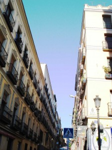 Spain Madrid Street Hope de le Vega